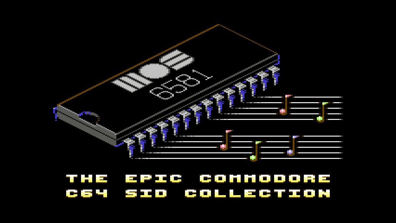 The Epic Commodore C64 Sid Collection 11 Hours Of C64