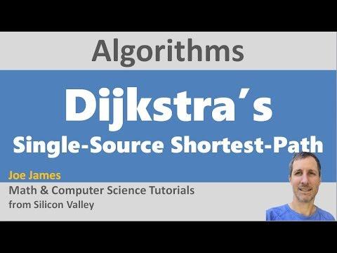 Dijkstras Algorithm for Single-Source Shortest Path