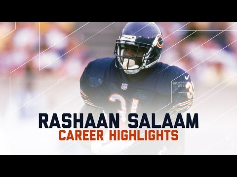 Rashaan Salaam Career Highlights Tribute | NFL