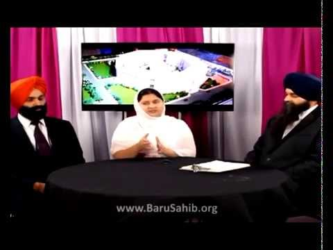Sikhs in Canada  With Ravideep kaur & Ramandeep Singh regarding Baru Sahib