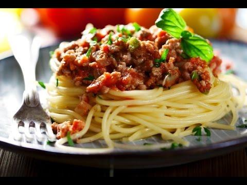 Спагетти с соусом аля