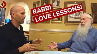 Hasidic Rabbi (Manis Friedman) Teaches Me About Relationships (BIG Episode) 🇺🇸