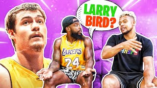 LA Lakers NBA Bandwagon Test w/ 2HYPE !!