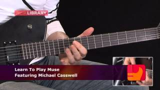 Hysteria - Muse - Intro Guitar Lesson With Michael Casswell Licklibrary