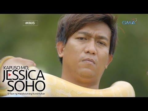 """Kapuso Mo, Jessica Soho: """"Venom Man"""" ng Pilipinas, kilalanin"""