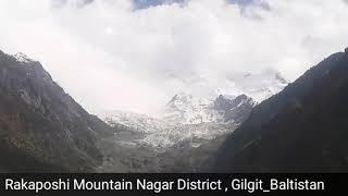 Rakaposhii Mountain Nagar, Gilgit Baltistan