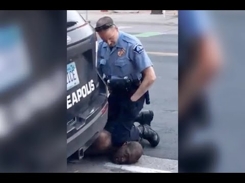 Police Kill Unarmed Black Man w/ Knee On Neck As He Says He Can't Breathe