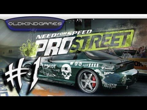 Прохождение Need for Speed: Pro Street #1
