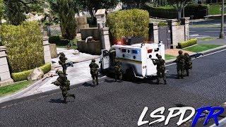 GTA 5 LSPDFR #246 REDADA - EJERCITO DE COLOMBIA   TheAxelGamer