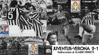 Juventus-verona 2-1  4/1/1987  Radiocronaca Di Claudio Ferretti  Tutto Il Calcio Minuto Per Minuto