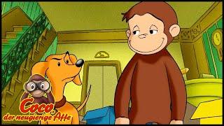 Coco der Neugierige 107 Das Paket Durcheinander  Ganze Folgen  Cartoons für KinderStaffel 1
