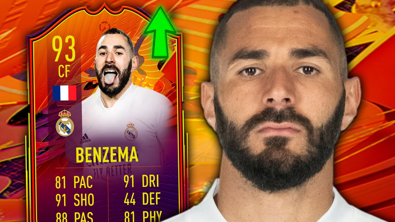 99 INCOMING?! 93 HEADLINER BENZEMA PLAYER REVIEW - FIFA 21 ULTIMATE TEAM -  YouTube