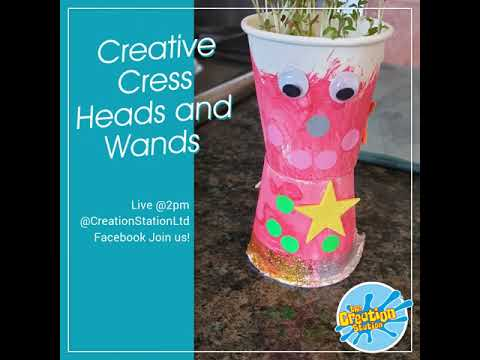 Creative Cress Heads and Wands
