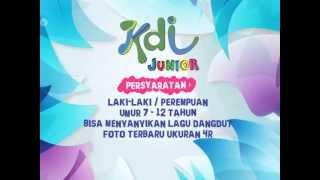 Syarat dan Pendaftaran KDI Junior