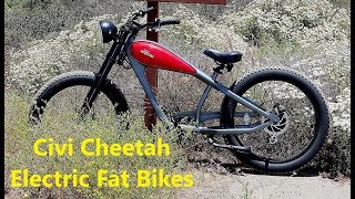 Civi Cheetah Electric Fat Bikes for Sale