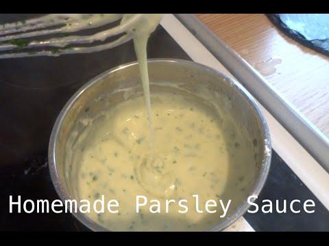 Homemade Parsley Sauce