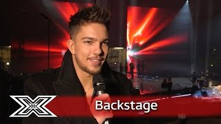 The X Factor Backstage with TalkTalk | Matt Terry talks making it through to the final!