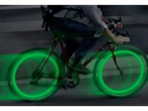237082575 LUCES LED PARA RUEDAS DE BICICLETAS - YouTube