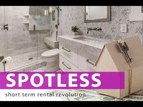 SPOTLESS! CLEANING TOUR AIRBNB RENTAL