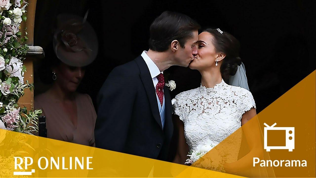 Hochzeit von Pippa Middleton & James Matthews - Die Braut strahlt