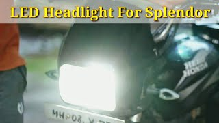 led headlight for bike