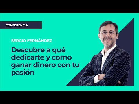 Descubre a qué dedicarte. Sergio Fernández