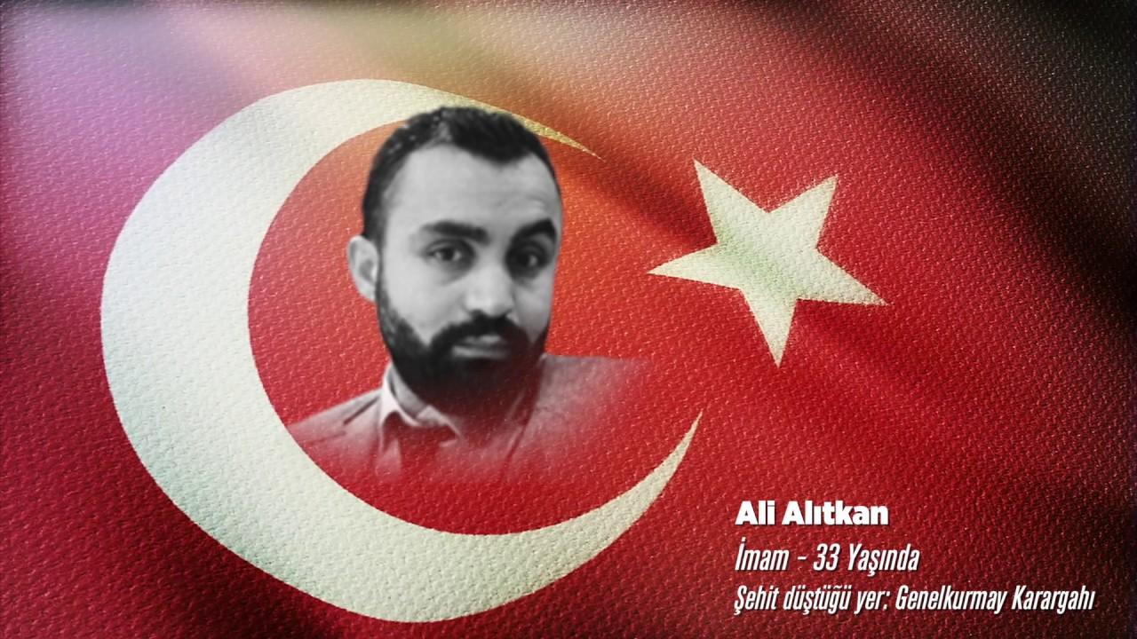 15 Temmuz Şehidi Ali Alıtkan