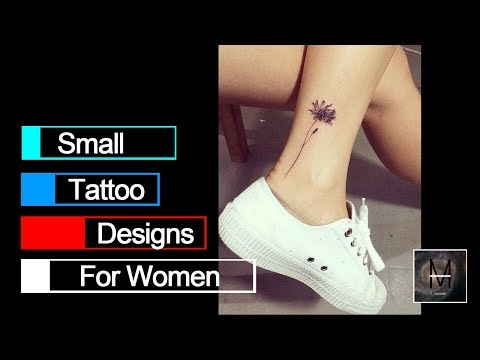 Pretty Small Tattoo Designs for Women