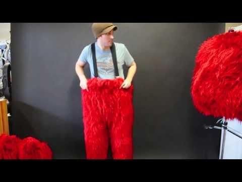 Monster Mascot suit built by Luna's Puppets