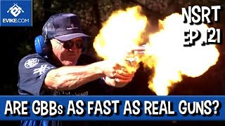 """Airsoft """"Not So Round Table"""" - Ep.121 - Are GBBs as Fast as Real Guns? - Airsoft Evike.com"""