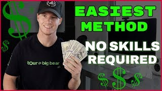 Need more help? start a passive income business for free 👇 https://rebrand.ly/passiveincomeblueprint in this video i go over the easiest way to make money on...