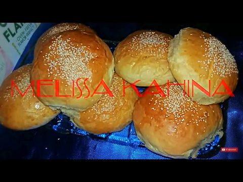pain burger très réussit     خبز البرغر  ناجح مليون في المئة