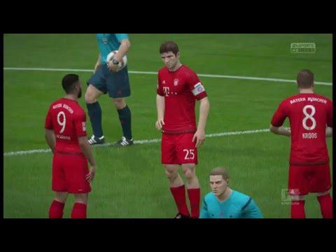Bundesliga Intro  - Bayern Munich vs Kaiserslautern @ Allianz Arena (FIFA 16)