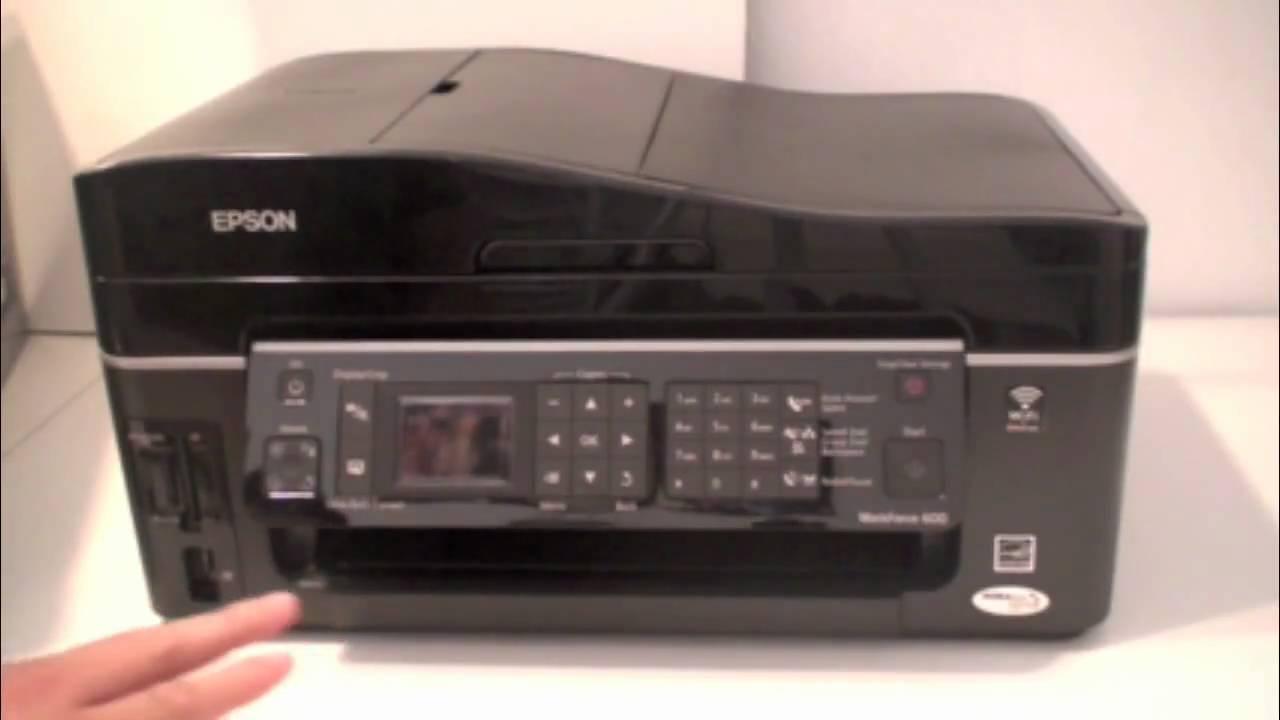 Epson WorkForce 600 Printer Windows 8 Driver Download