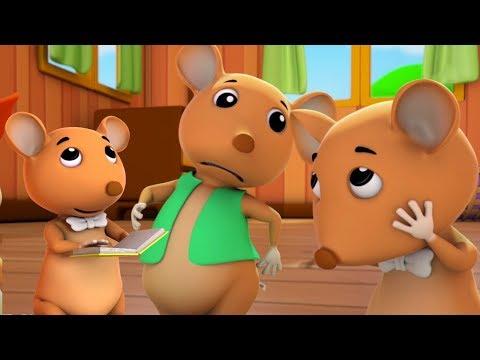 ba con chuột mù | Bài hát cho trẻ em | vần cho trẻ sơ sinh | Three Blind mice | Nursery Rhymes