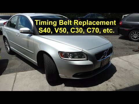 How to replace the timing belt on a P1 Volvo, S40, V50, C30, C70, etc., also Ford Focus ST – VOTD
