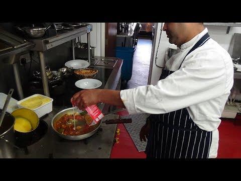 Paneer Tikka Masala & Palak Paneer Recipe at Zouk Tea Bar & Grill, Indian Restaurant, Bradford, U.K.
