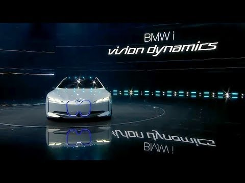 BMW i Vision Dynamic Weltpremiere @ IAA 2017 Pressekonferenz (Deutsch / German)