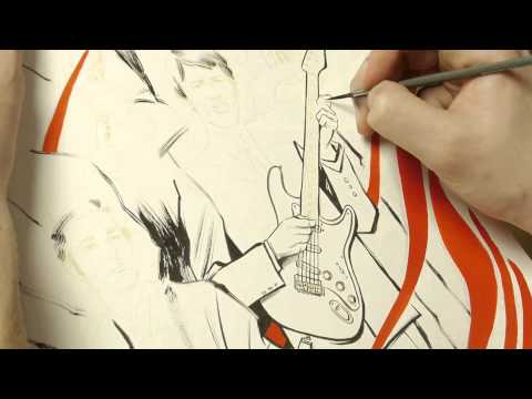 Oooh and I like... The Association (time lapse drawing)