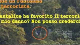 Terrorista o fantasma 19 10 2015 a vulcano di Porzia  Istituzioni complici CSF Rieti