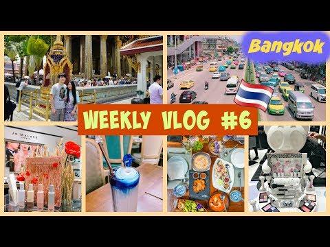 WEEKLY VLOG #6 - BANGKOK 2018 | BF'S BACK FOR 2 WEEKS YAYS!