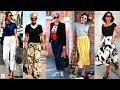С чем носить футболки летом женщинам после 50, чтобы выглядеть моложе   Яркие летние образы 50+