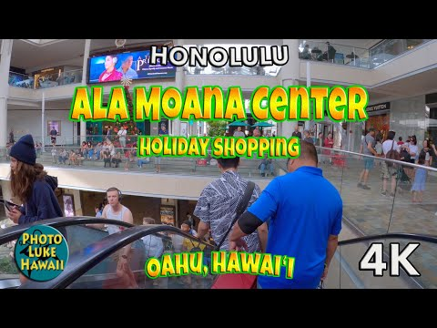 Ala Moana Center Holiday Shopping