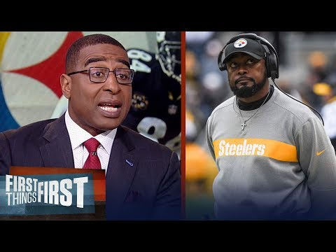 Cris Carter has a 'huge problem' with Antonio Brown, talk Tomlin's career   NFL   FIRST THINGS FIRST