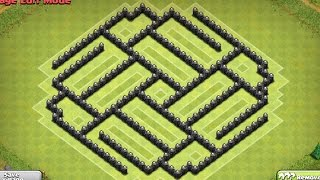 Clash of Clans - Town Hall 8 Farming Base - Speed Build episode 2
