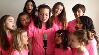 """The Pop Shop All-Stars perform """"Stand By You"""" for Pink Shirt Day!"""