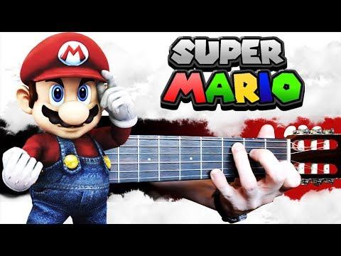 Видеоурок на гитаре супер марио