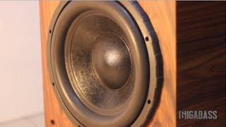 Bass I Love You Heavy cone movement II Gigabass Subwoofer II HD