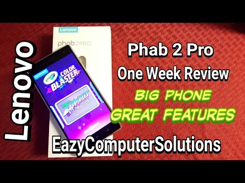 Lenovo Phab 2 Pro One Week Review 2017 Big Phone | Augmented Reality | Cool Camera