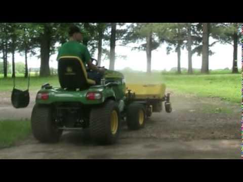 John Deere X475 W 52 Quot Broom Youtube